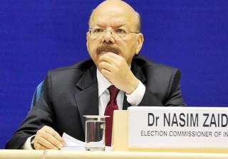 File pic of CEC Nasim Zaidi - India TV