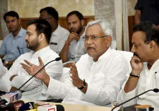 Nitish rules Bihar in alliance with Lalu's RJD...