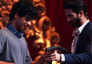 Shahid Kapoor, Ishaan Khatter - India TV