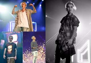 Justin Bieber's laid-back concert fashion is so...