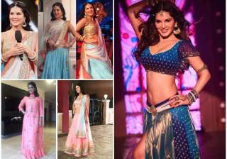 sunny leone in traditional dresses - India TV