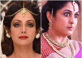 This is why Sridevi rejected Sivagami's role in...