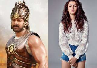 alia bhatt wants to work with prabhas - India TV