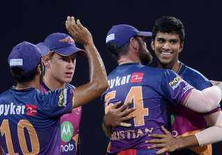 Pune beat Mumbai Indians by 20 runs to enter...