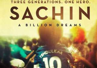 sachin a billion dreams first day collection - India TV
