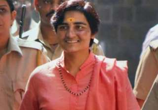 File pic of Sadhvi Pragya - India TV