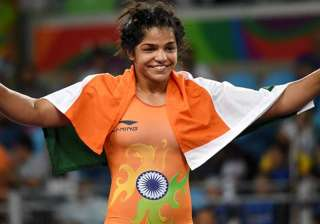 File pic - Sakshi Malik bags silver at Asian...