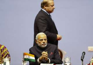 File pic of PM Modi and Nawaz Sharif at SAARC...