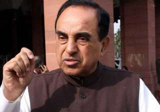 File pic of Subramanian Swamy - India TV