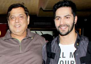 Varun Dhawan gets hit with a bottle by dad David...
