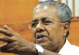 File pic of Kerala Chief Minister Pinarayi...