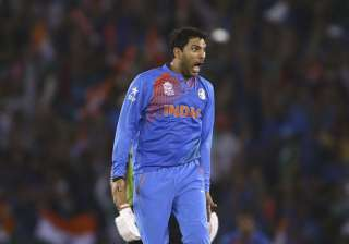 A file image of all-rounder Yuvraj Singh. - India...