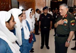 Army Chief General Bipin Rawat met and...