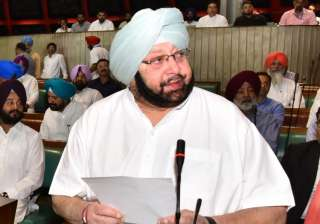 Punjab Chief Minister Amarinder Singh - India TV