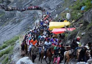 2,480 pilgrims leave for Amarnath amid tight...