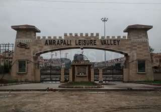 File pic - Amrapali Leisure Valley project -...