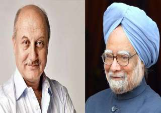 Anupam Kher, Manmohan Singh - India TV