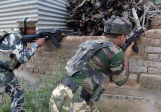 Kashmir: Three LeT militants trapped in a house,...