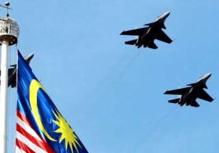Malaysian air force fighter jet