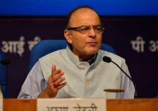 File pic of Finance Minister Arun Jaitley - India...