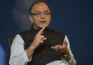 File pic of Union Finance Minister Arun Jaitley ...