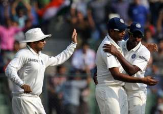 A file image of Virender Sehwag, R Ashwin and...