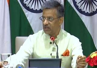 External Affairs Ministry Spokesperson Gopal...