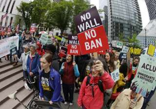 Travel ban partially reinstated, Trump calls it...