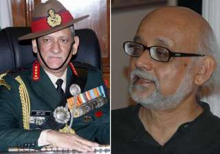 General Bipin Rawat, Partha Chatterjee