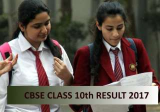 CBSE 10th Result 2017 Update