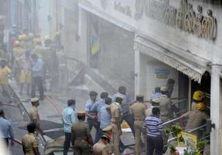 Chennai Silks fire