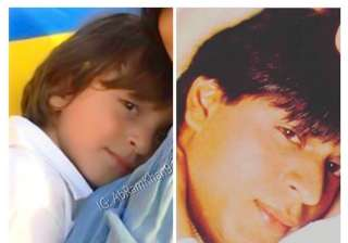 Shah Rukh Khan shares adorable pic with son AbRam...