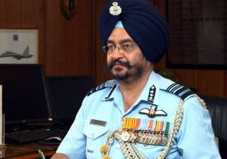 File pic of Air Chief Marshal BS Dhanoa - India TV