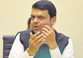 File pic of Maharashtra Chief Minister Devendra...