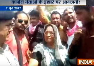 Congress hand in MP violence? - India TV