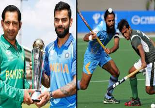 India to take on Pakistan in both cricket, hockey...