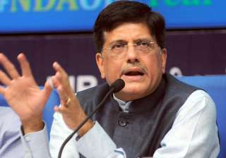 File pic of Union minister Piyush Goyal - India TV