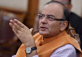 Implement GST in J&K from July 1: Arun Jaitley...