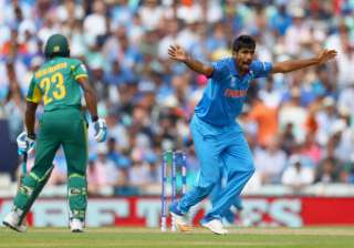Jasprit Bumrah of India succesfully appeals -...