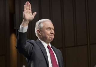 Trump's Attorney General Jeff Sessions denies...