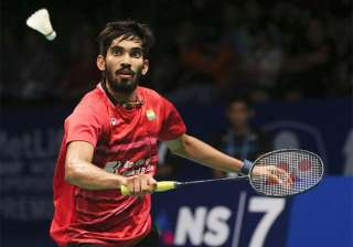 A file image of Kidambi Srikanth. - India TV