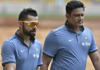 Anil Kumble is likely to retained as India's...