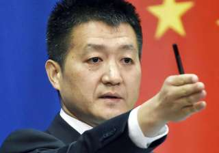 File pic - Chinese Foreign Ministry spokesman Lu...