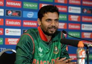 Bangladesh captain Mashrafe Mortaza. - India TV