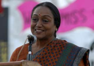 File pic of Meira Kumar - India TV