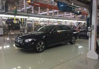 Mercedes Benz today rolled out the new E-CLass...