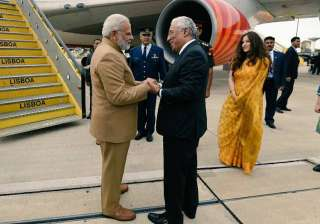 PM Modi leaves for US after concluding Portugal...