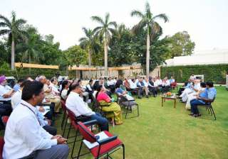 PM Modi meets secretaries, asks them to identify...