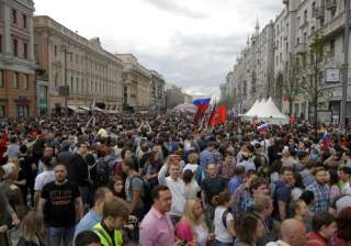 Moscow protests - India TV
