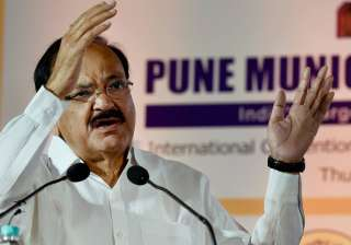 Naidu speaks during listing ceremony of PMC's...